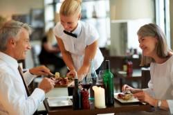Правильное обслуживание клиентов кафе