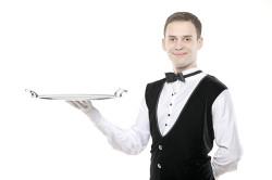 Униформа обслуживающего персонала в ресторане