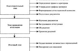 Основные этапы аттестации персонала