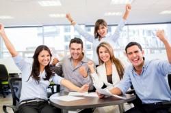 Хороший коллектив при правильном управлении персоналом
