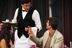 Поощрение обслуживающего персонала кафе