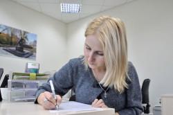 Предложение перевода по работе в письменном виде