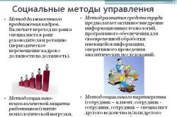 Социальные методы управления