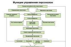 Изучение функций управления персоналом