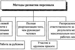 Методы развития персонала