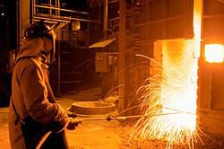 Вредные условия на горячем цеху завода