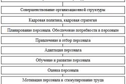 Анализ и совршенствование системы управления персоналом