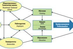 Схема компетентности сотрудника