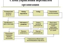 Схема управления персоналом