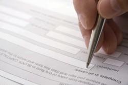 Заполнение анкеты сотрудниками