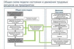 Модель состояния и движения трудовых ресурсов